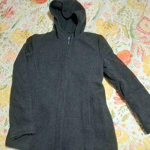 GAP Recycled Wool Hooded Coat
